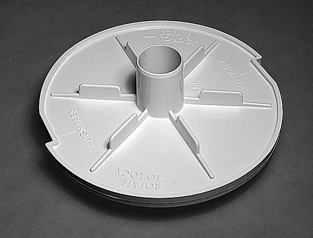 519-6480 Vac Plate